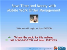 Save Time and Money with Mobile Work Order Management