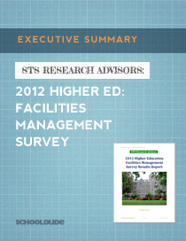 2012 Higher ED: Facilities Management Survey