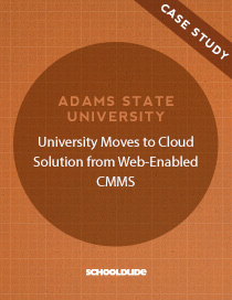 Adams State University Moves to Cloud Solution from Web-Enabled CMMS