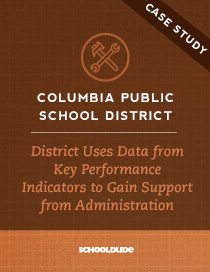 District Uses Data from Key Performance Indicators to Gain Support from Administration