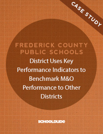 District Uses Key Performance Indicators to Benchmark M&O Performance to Other Districts