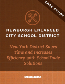 New York District Saves Time and Increases Efficiency with SchoolDude Solutions
