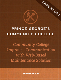 Prince George's Community College Improves Communication with Web-Based Maintenance Solution