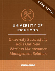 University of Richmond Successfully Rolls Out New Wireless Maintenance Management Solution