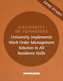 University of Tennessee Implements Work Order Management Solution in All Residence Halls