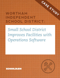 Small School District Improves Facilities with Operations Software