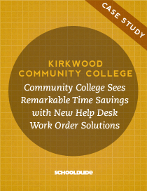 Community College Sees Remarkable Time Savings with New Help Desk Work Order Solution