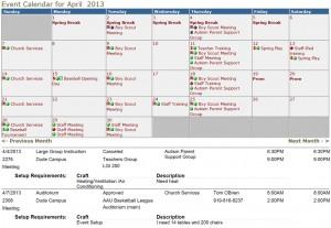 FSD Calendar